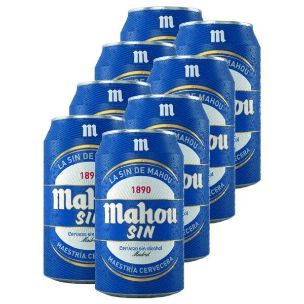 Cerveza Mahou Sin Lata, 11.2 oz