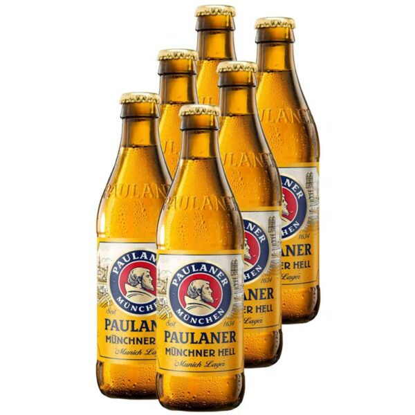 Cerveza Paulaner Münchner Hell, 11.2 oz