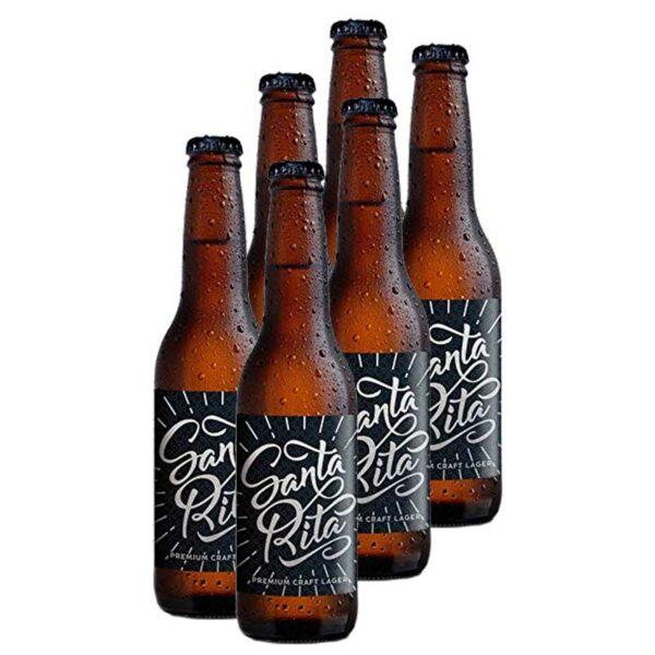 Cerveza Santa Rita, 11.2 oz