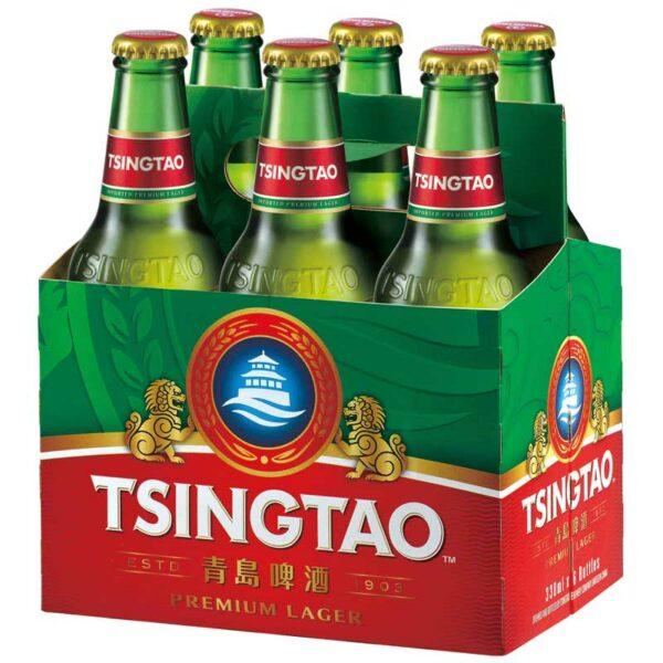 Cerveza Tsingtao Premium Lager, 11.2 oz