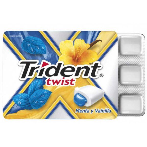 Trident Twist Menta Vainilla