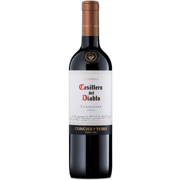 Vino Tinto Casillero del Diablo Carmenere, 750 ml