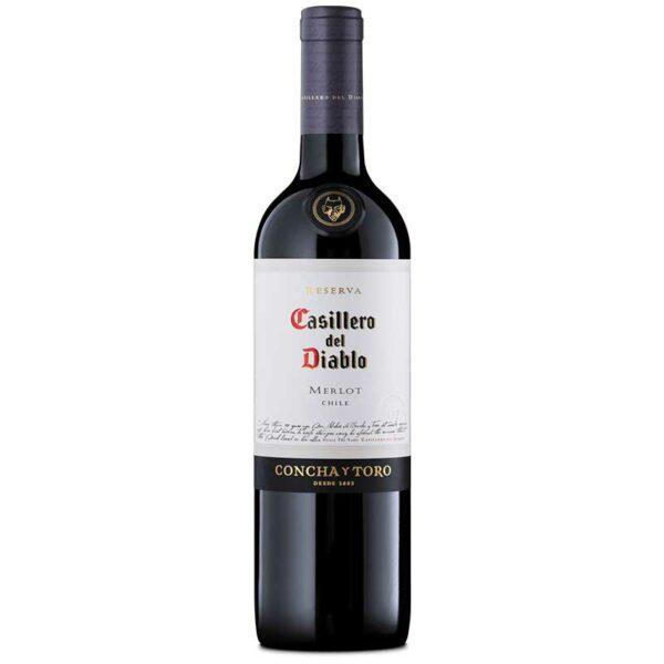 Vino Tinto Casillero del Diablo Merlot, 750 ml