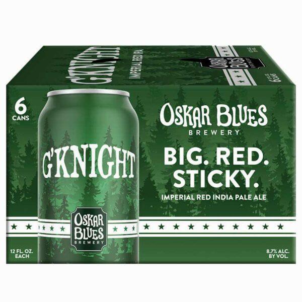 Cerveza Oskar Blues G' Knight Imperial Red Ipa, 12 oz