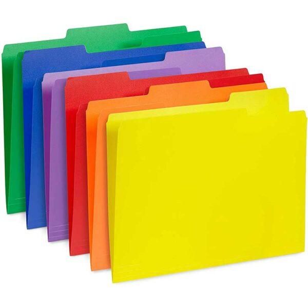 """Folders Premium Abby 8.5"""" x 11"""" (100 uds)"""