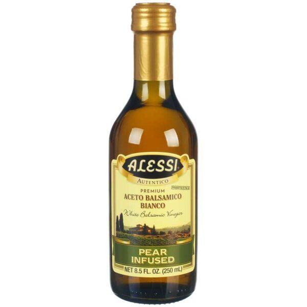 Vinagre Alessi Balsámico Blanco Pera, 8.5 oz