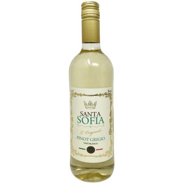 Vino Blanco Santa Sofia Pinot Grigio, 750 ml
